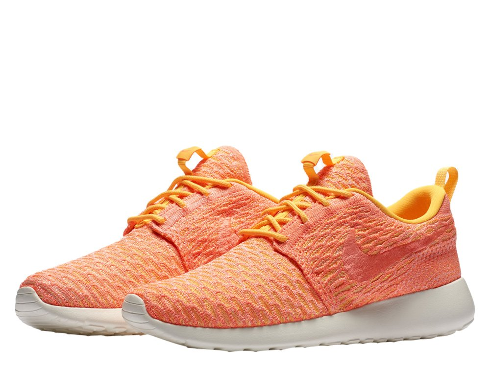 "buty nike wmns roshe one flyknit ""laser orange"" (704927-802)"