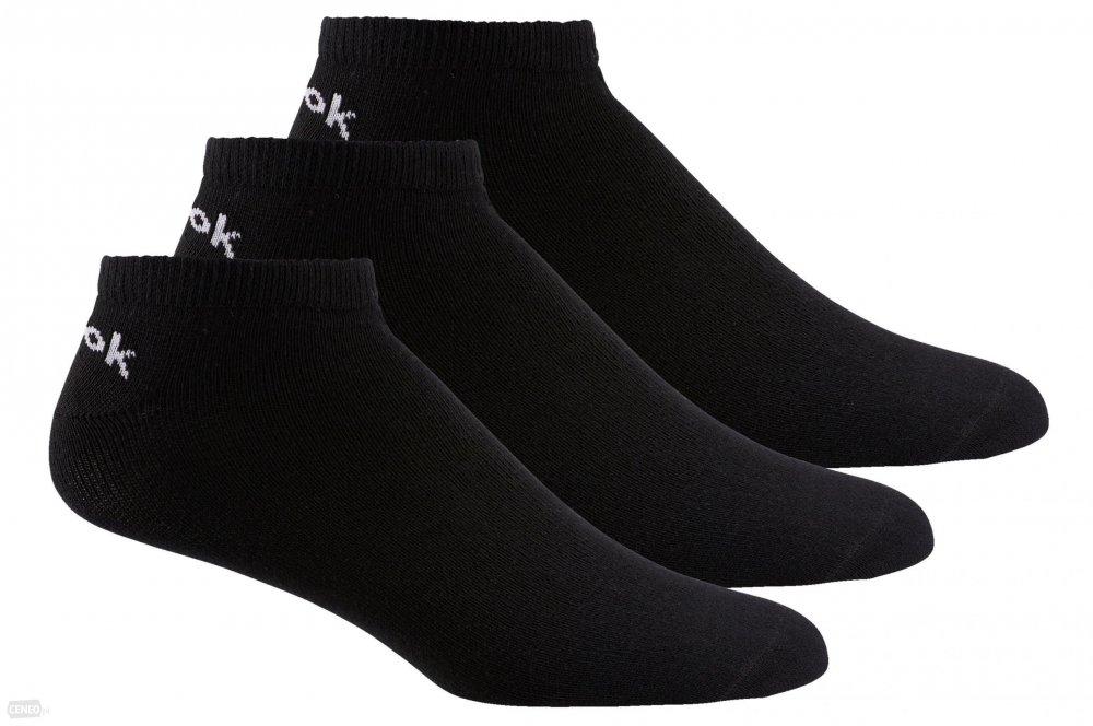 reebok no show sock - 3 pair black