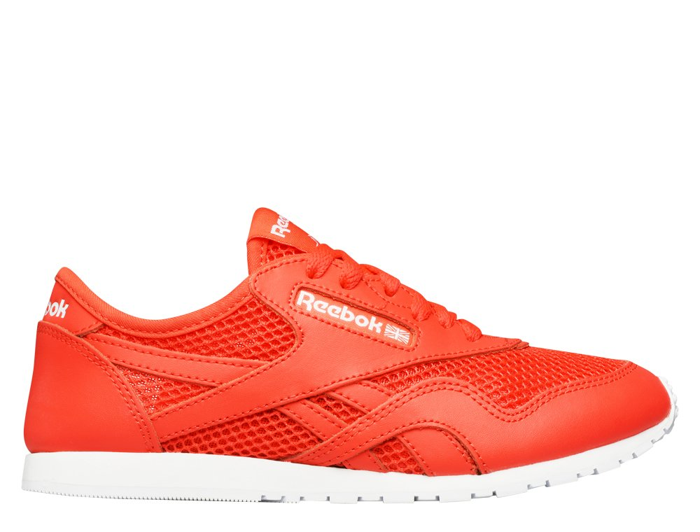 "buty reebok classic nylon slim mesh ""laser red"" (v71882)"