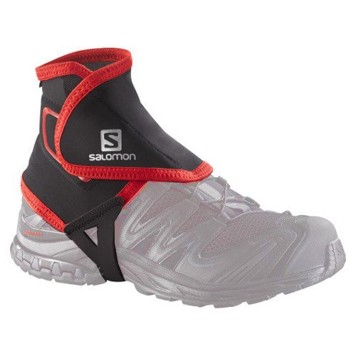 salomon trail gaiters high czarne