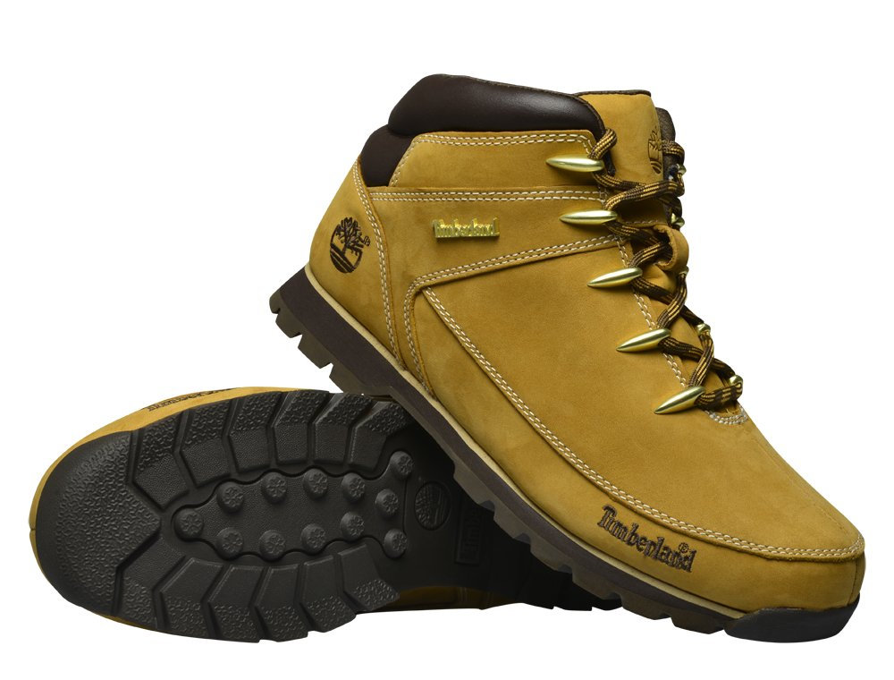 timberland euro sprint hiker brown