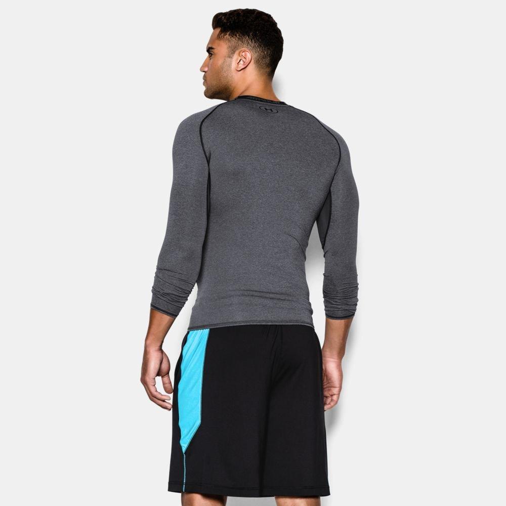 under armour heatgear® armour long sleeve compression shirt carbon