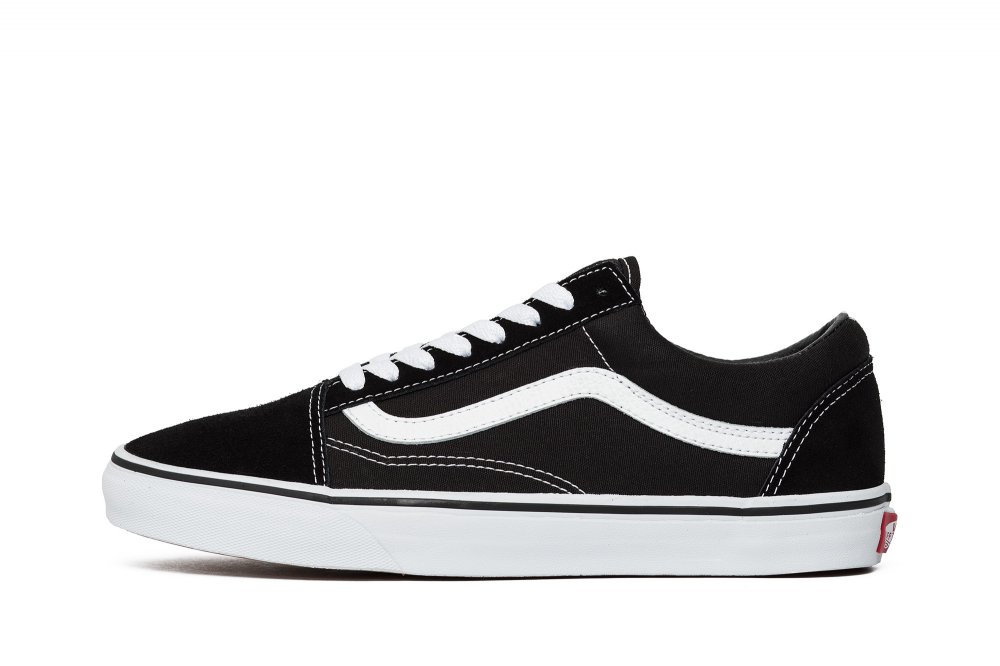 Sneakers buty damskie Vans Old Skool black white