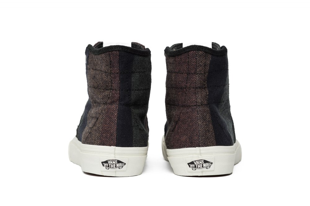 "vans sk8-hi decon spt ""wool stripes"" (v002iejpo)"
