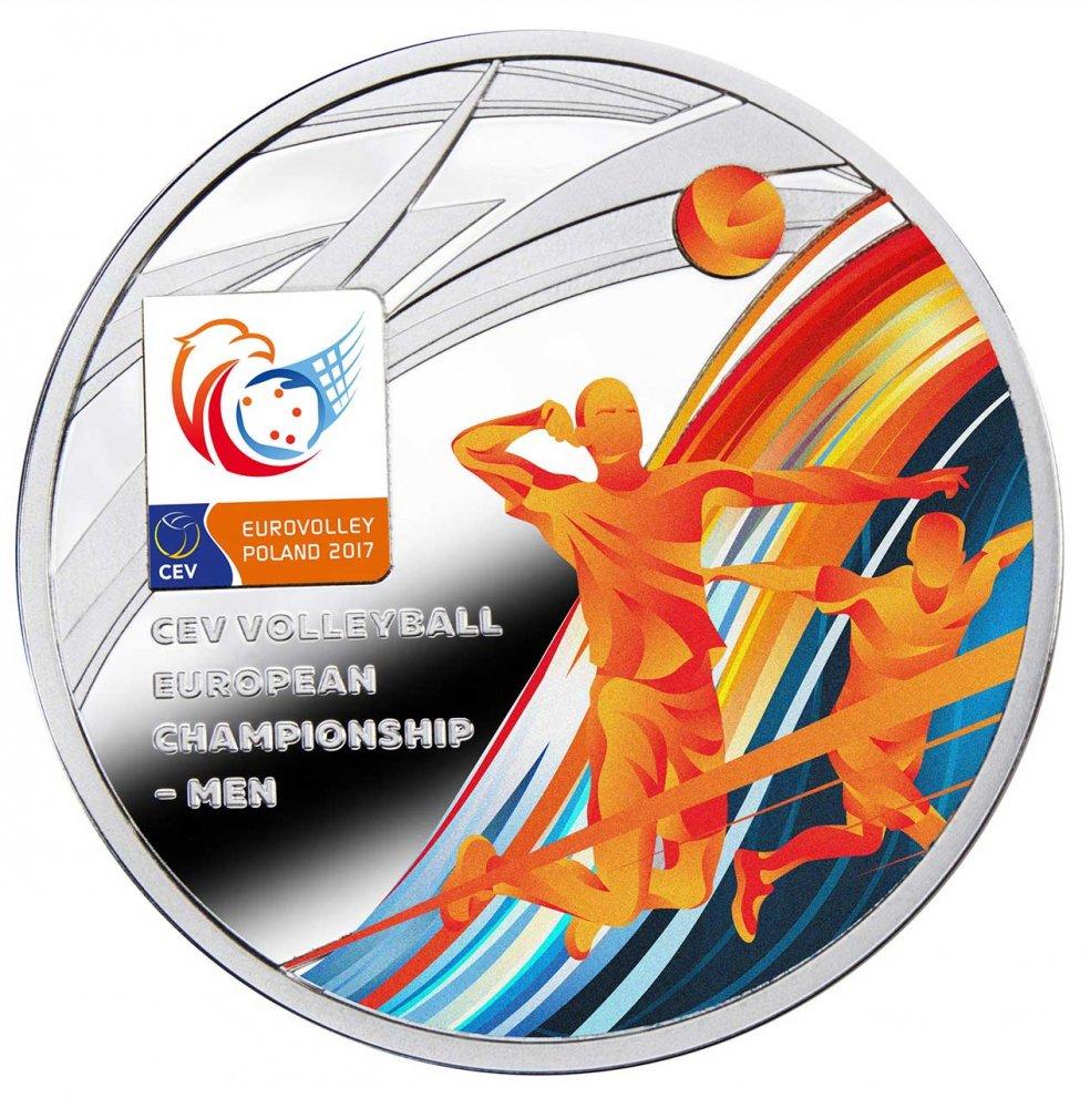 okolicznościowa moneta eurovolley poland 2017
