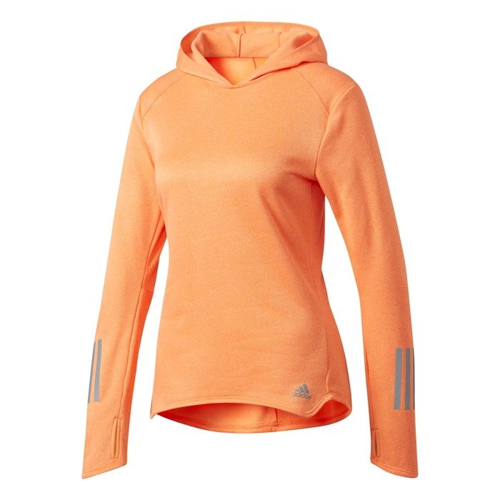 adidas response astro hoodie w pomarańczowa