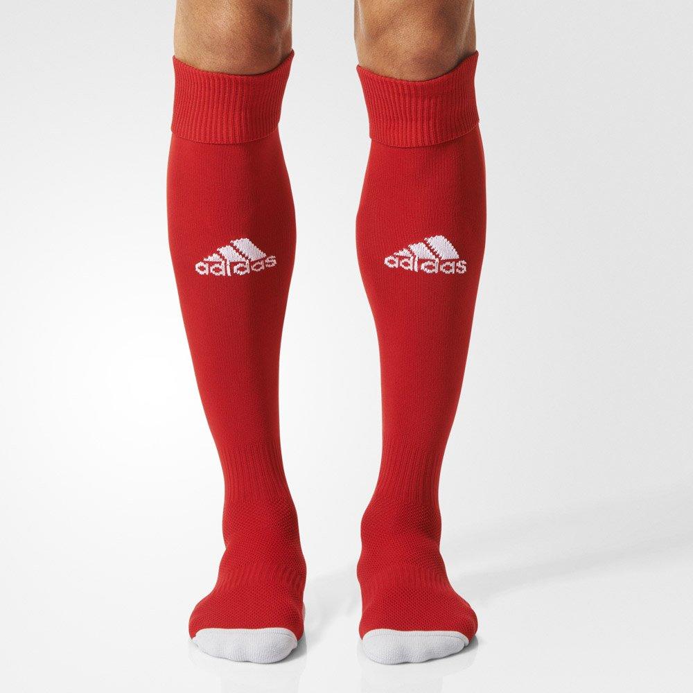 adidas milano 16 sock czerwone