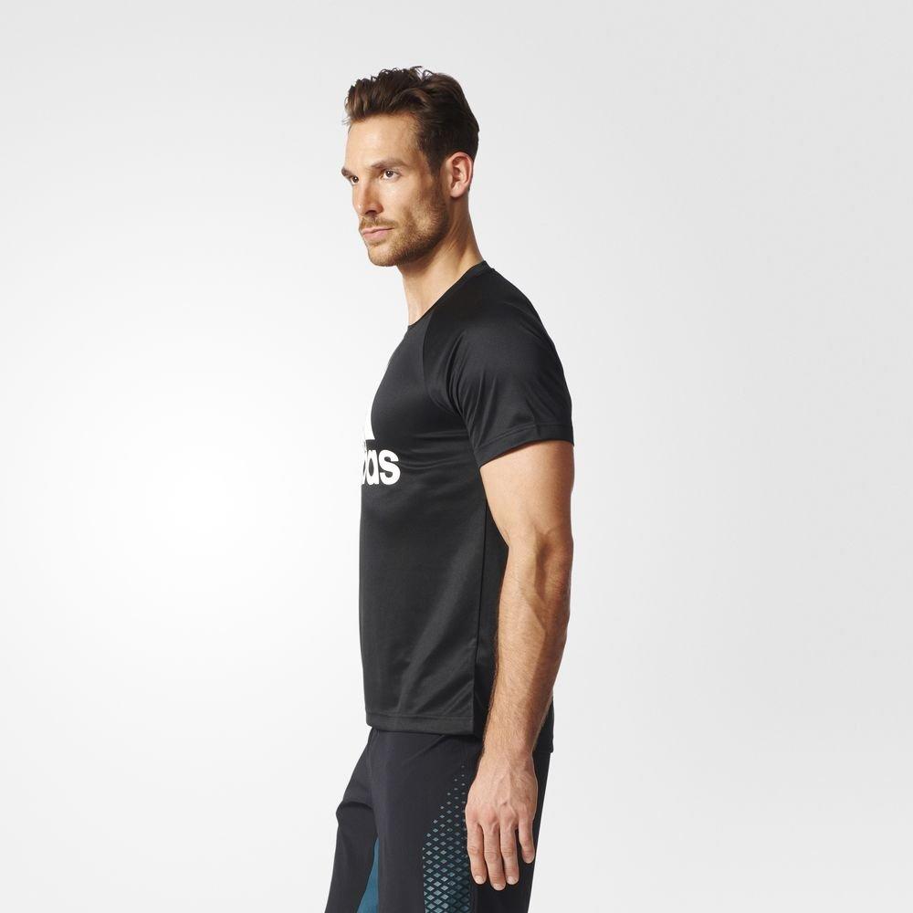 adidas design to move tee logo black