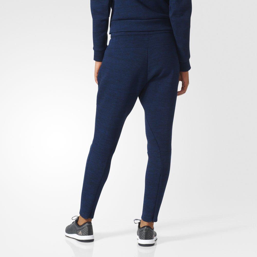 adidas z.n.e. travel pants heather navy