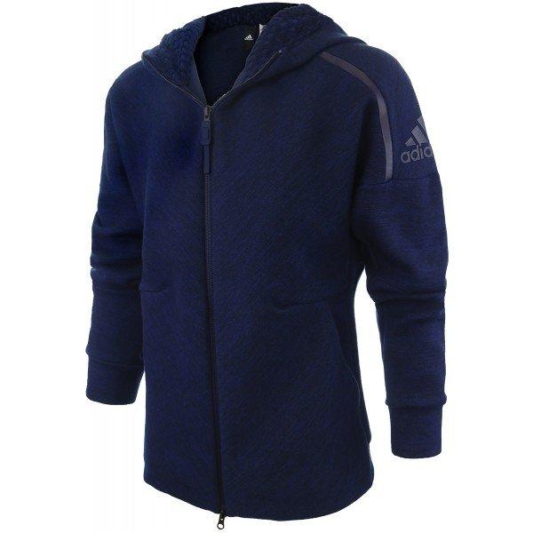 adidas z.n.e. travel hoodie blue