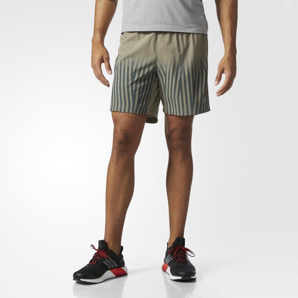 adidas supernova graphic shorts m szare