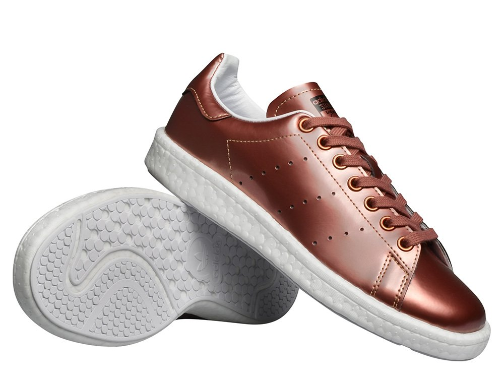 "buty adidas stan smith boost women ""copper metallic"" (bb0107)"