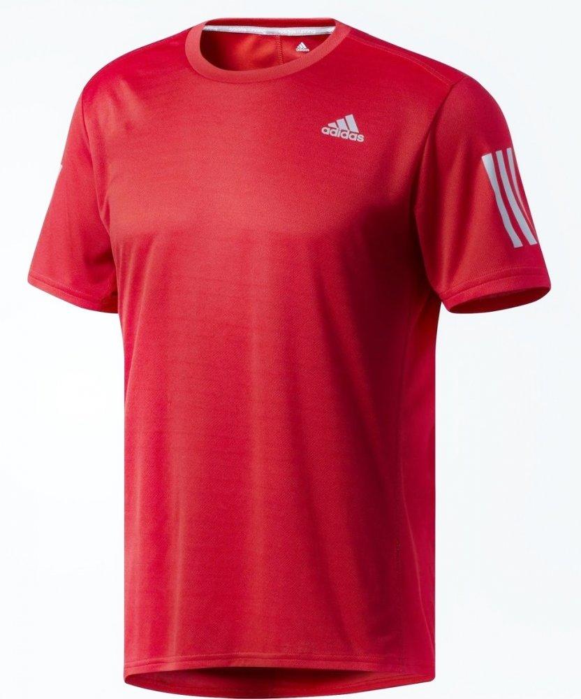 adidas response tee m czerwona