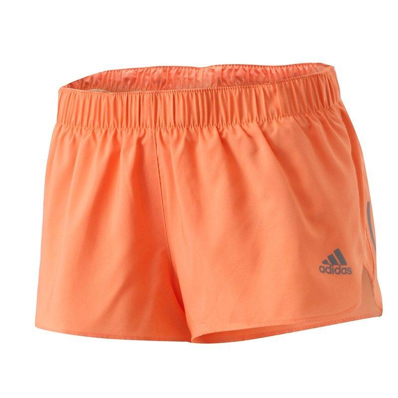 adidas response shorts w pomarańczowe