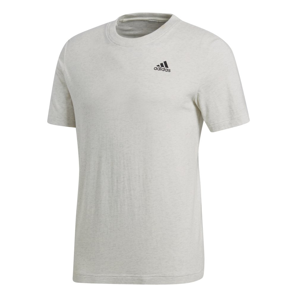 adidas essentials classics sw identity base tee white