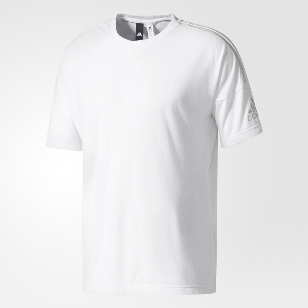 adidas z.n.e. tee white