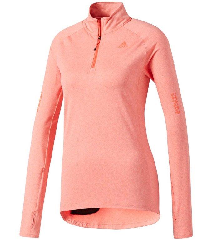 adidas supernova sweatshirt w koralowo-różowa