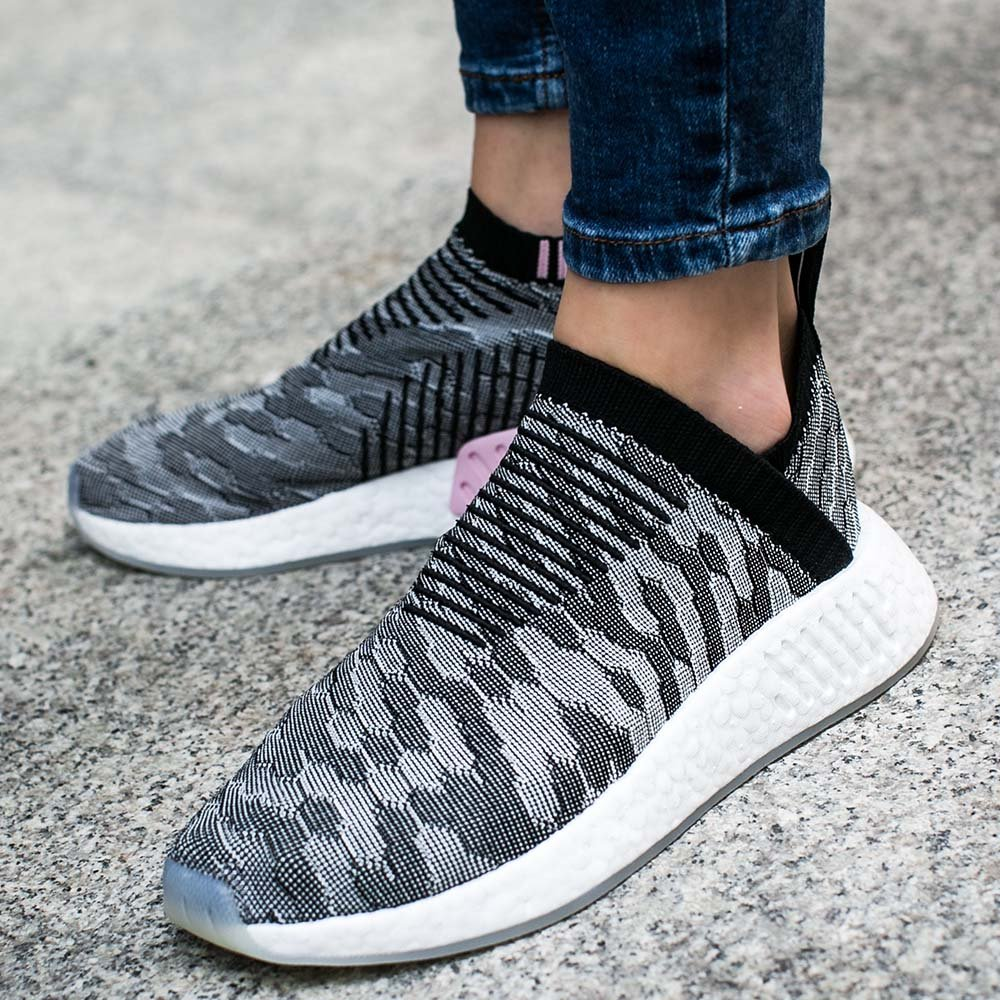 adidas Black NMD CS2 Primeknit sneakers | Browns