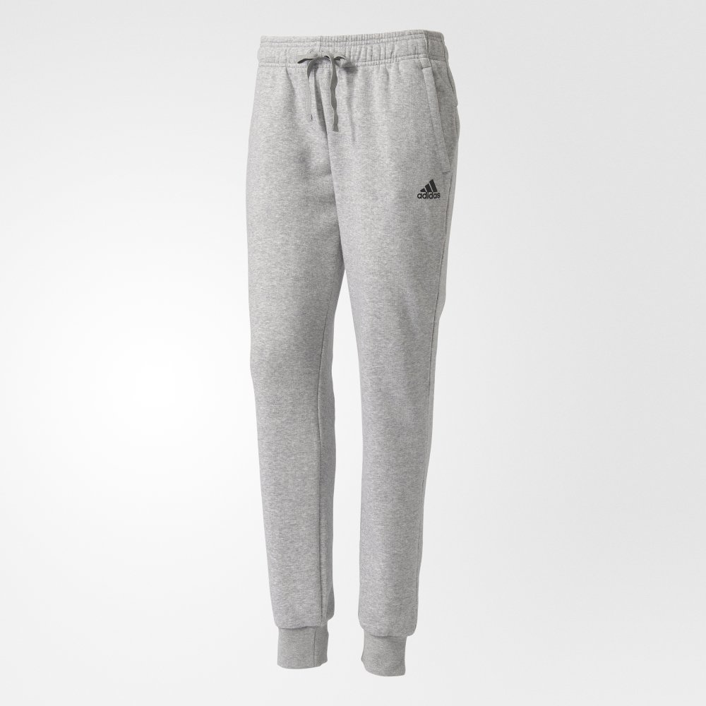 adidas essentials solid pants grey