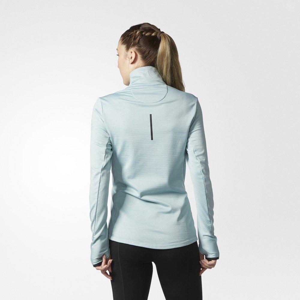 adidas supernova climaheat wrap jacket green vertac
