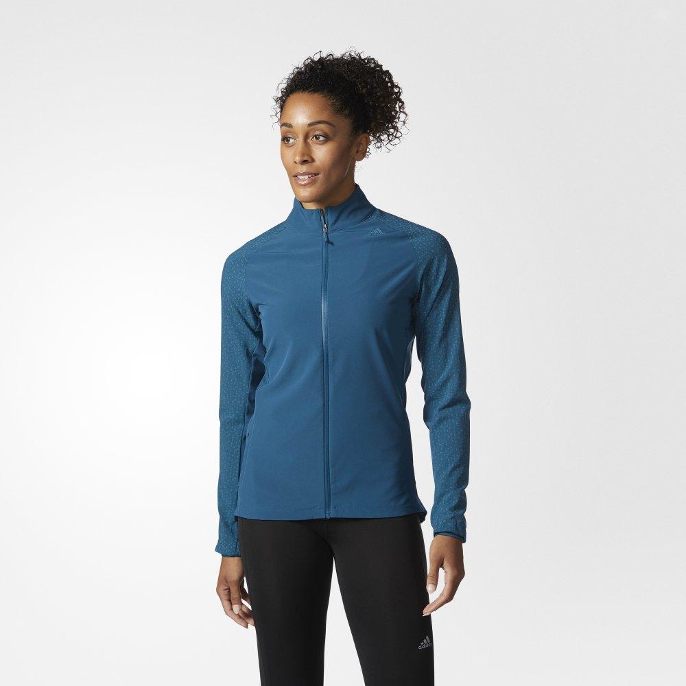adidas supernova storm jacket w niebieska