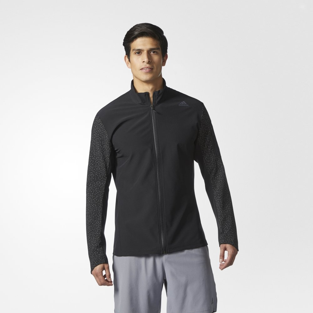 adidas supernova storm jacket black