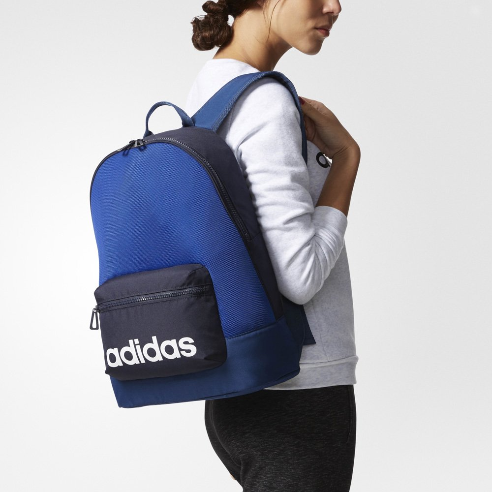 adidas color elements daily backpack niebiesko-czarny