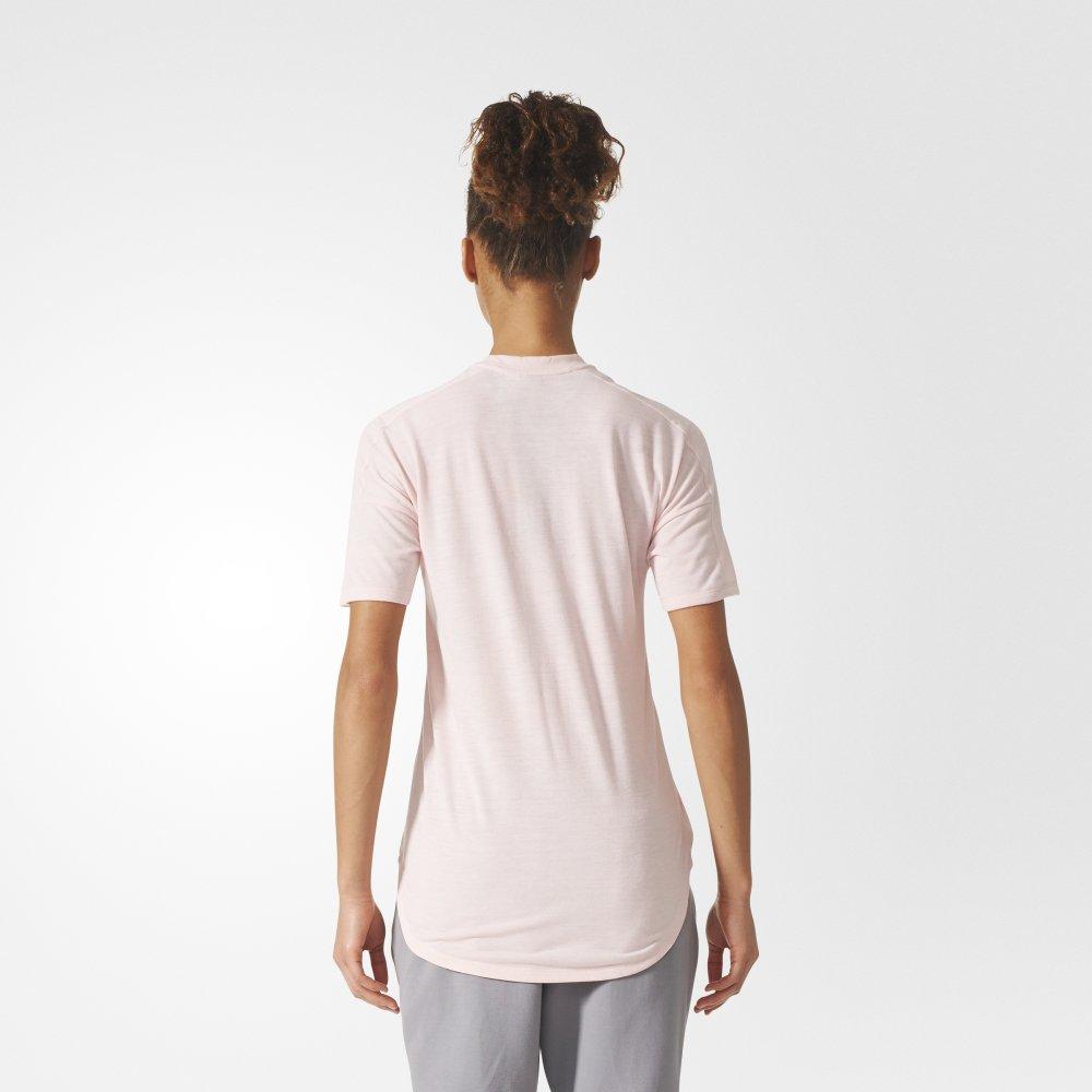 adidas z.n.e. tee pink