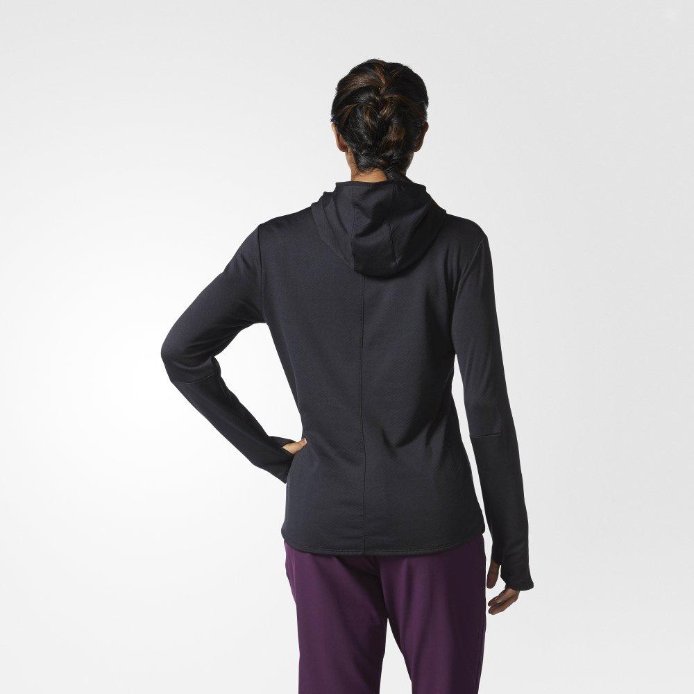 adidas response climawarm hoodie w czarna
