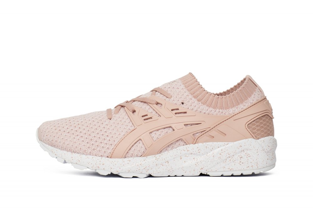 "buty asics gel-kayano trainer knit ""evening sand"" (hn7q2-1717)"