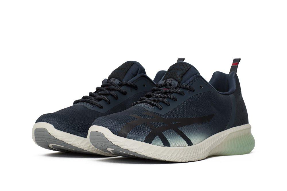 "asics gel-kenun shinkai x mita sneakers ""megalodon"" (t7l0n-4901)"