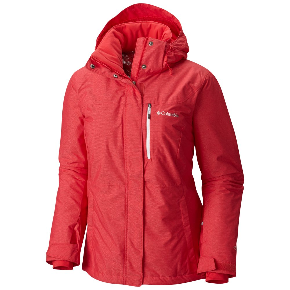 kurtka columbia alpine action red camellia