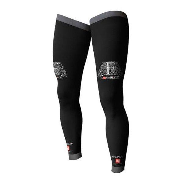 compressport full legs czarne