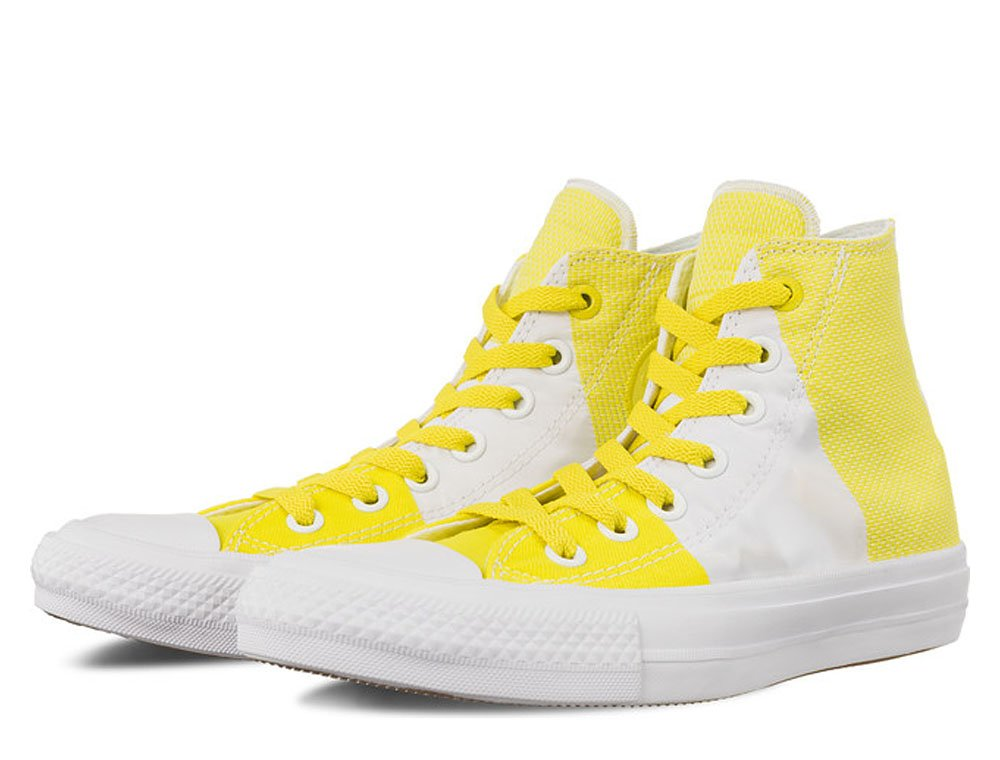 converse chuck taylor all star ii engineered woven damskie Żółto-białe (c155417)