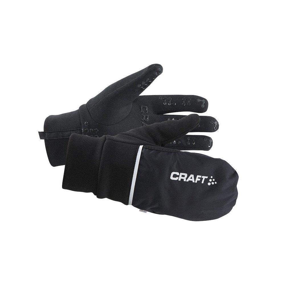 craft hybrid weather glove czarne