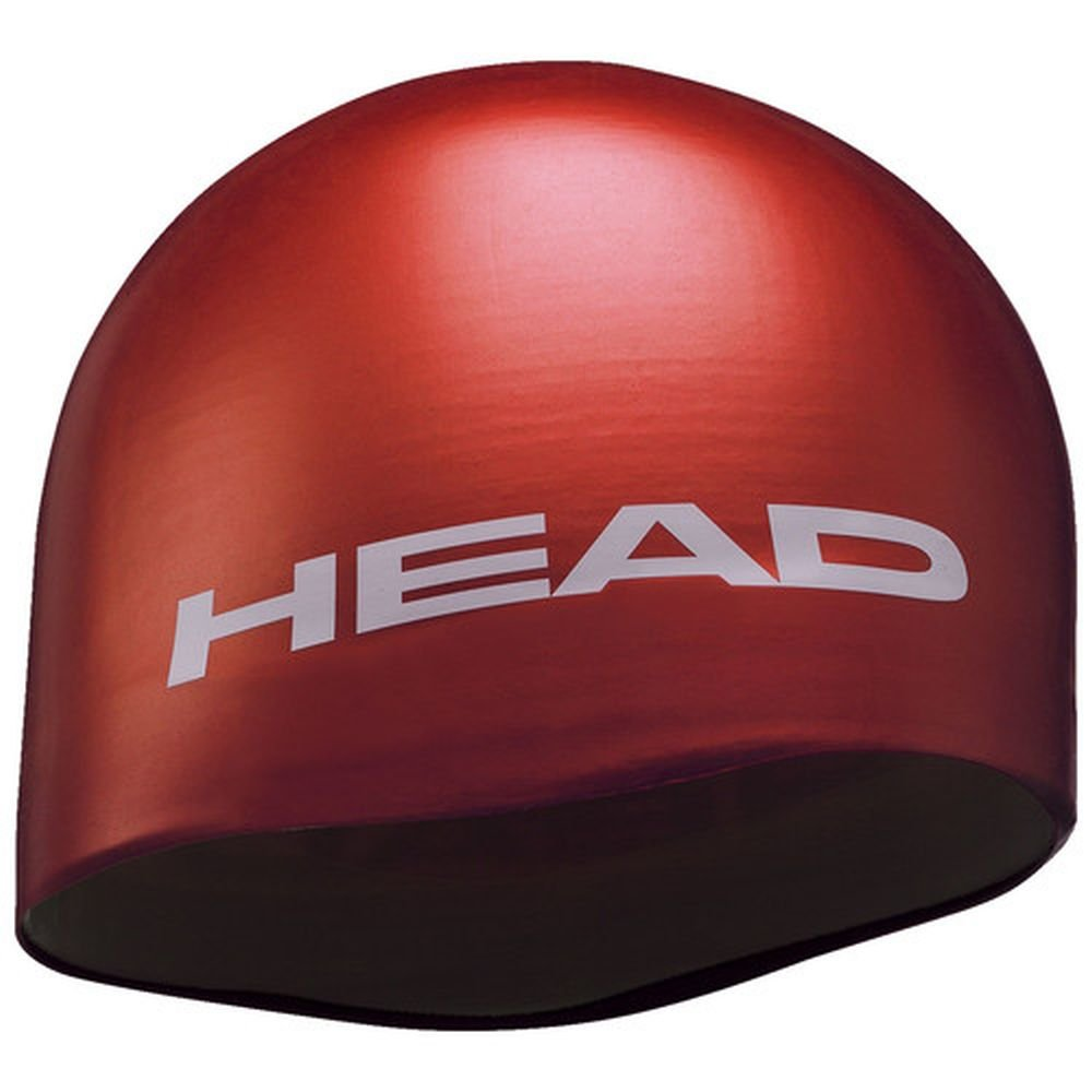 czepek head silicone moulded red