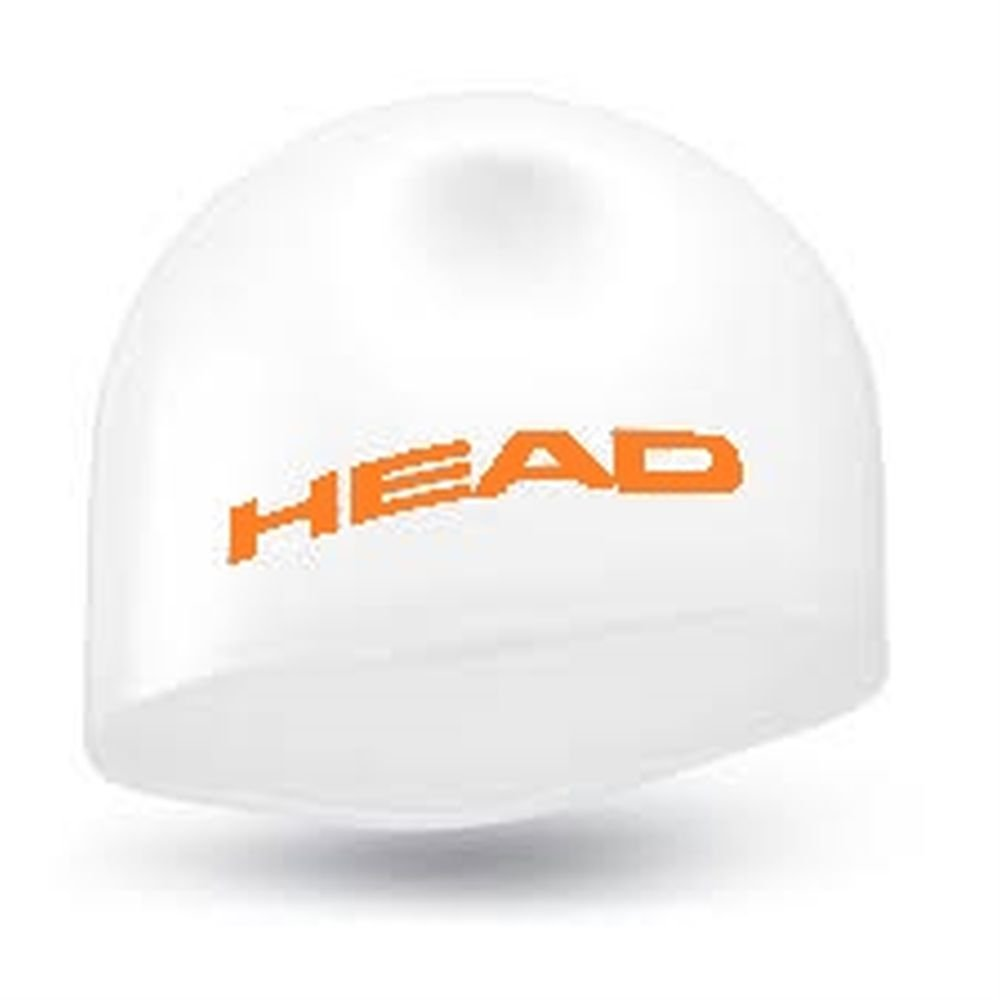 czepek head silicone moulded white