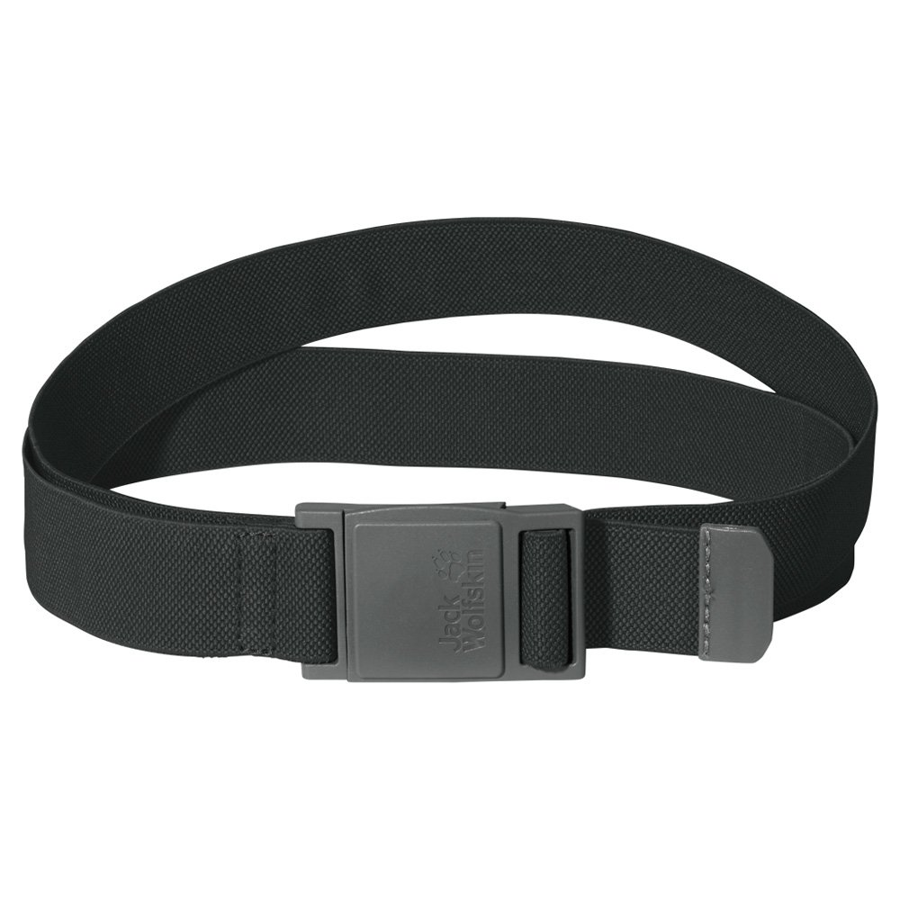pasek jack wolfskin stretch belt dark steel