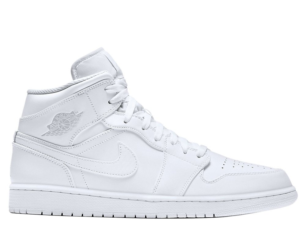 buty air jordan 1 mid white