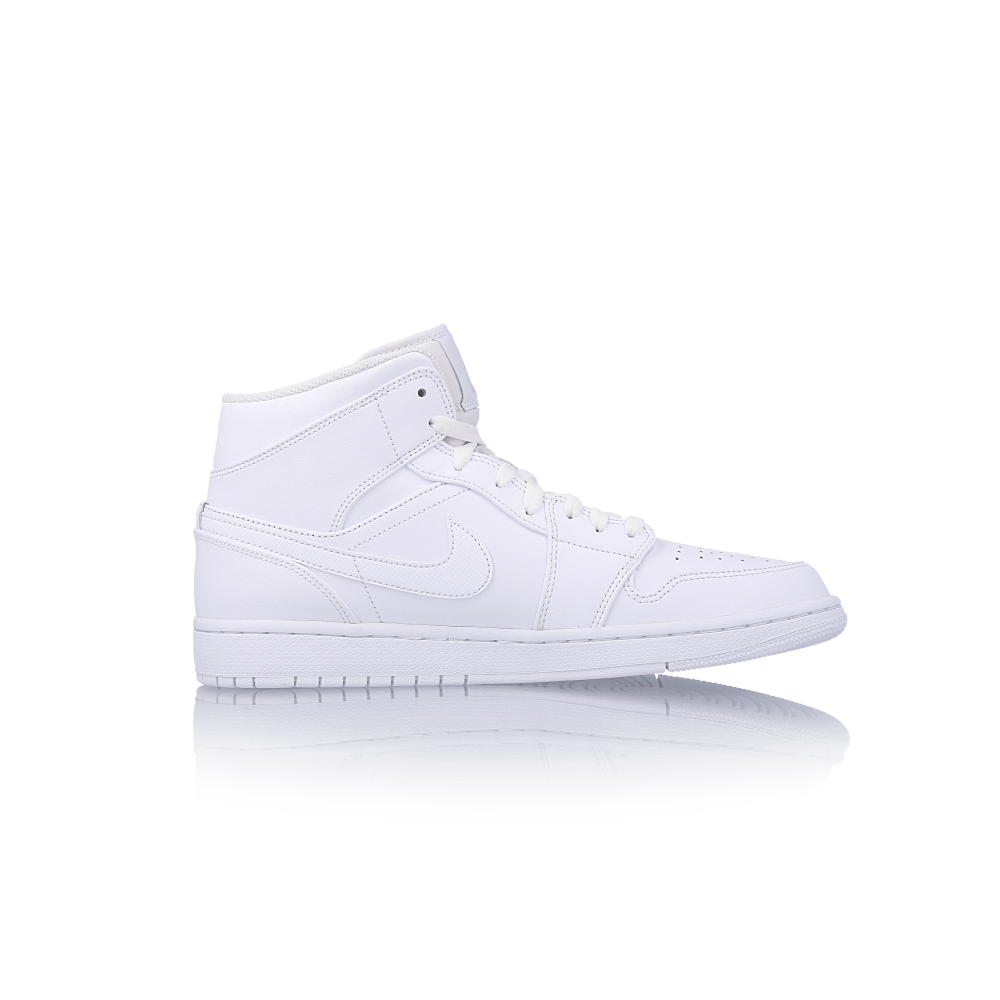 "air jordan 1 mid ""white"""