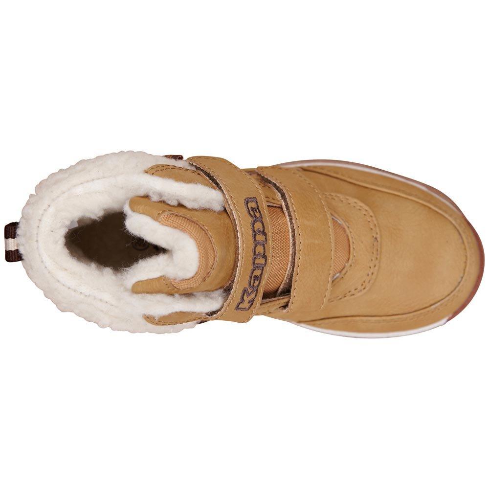 kappa bright mid fur k beżowo-białe