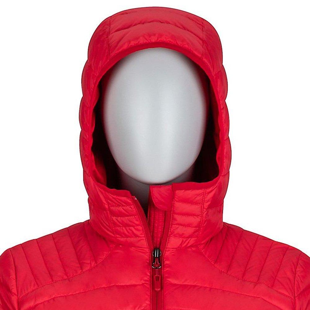 kurtka marmot wm's electra jacket, tomato/team red