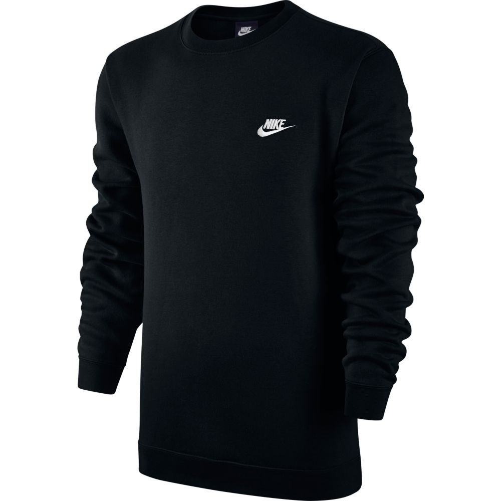 bluzka nike nsw crew fleece club (804340-010)