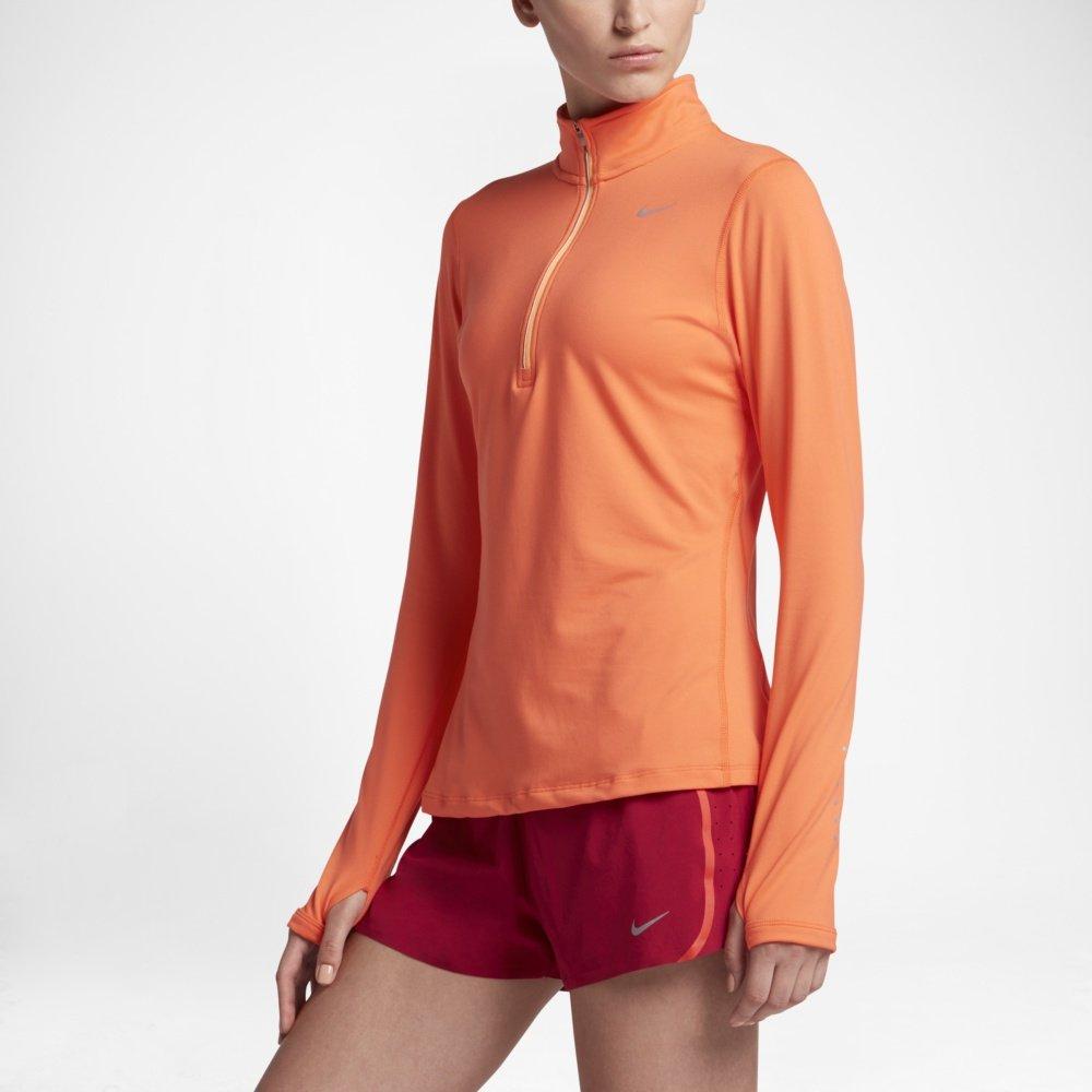 Nike Element Half Zip Top W Pomarańczowa
