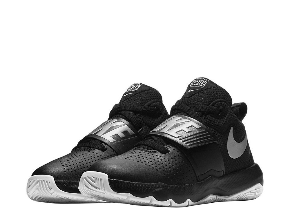 nike team hustle d 8 (gs) black