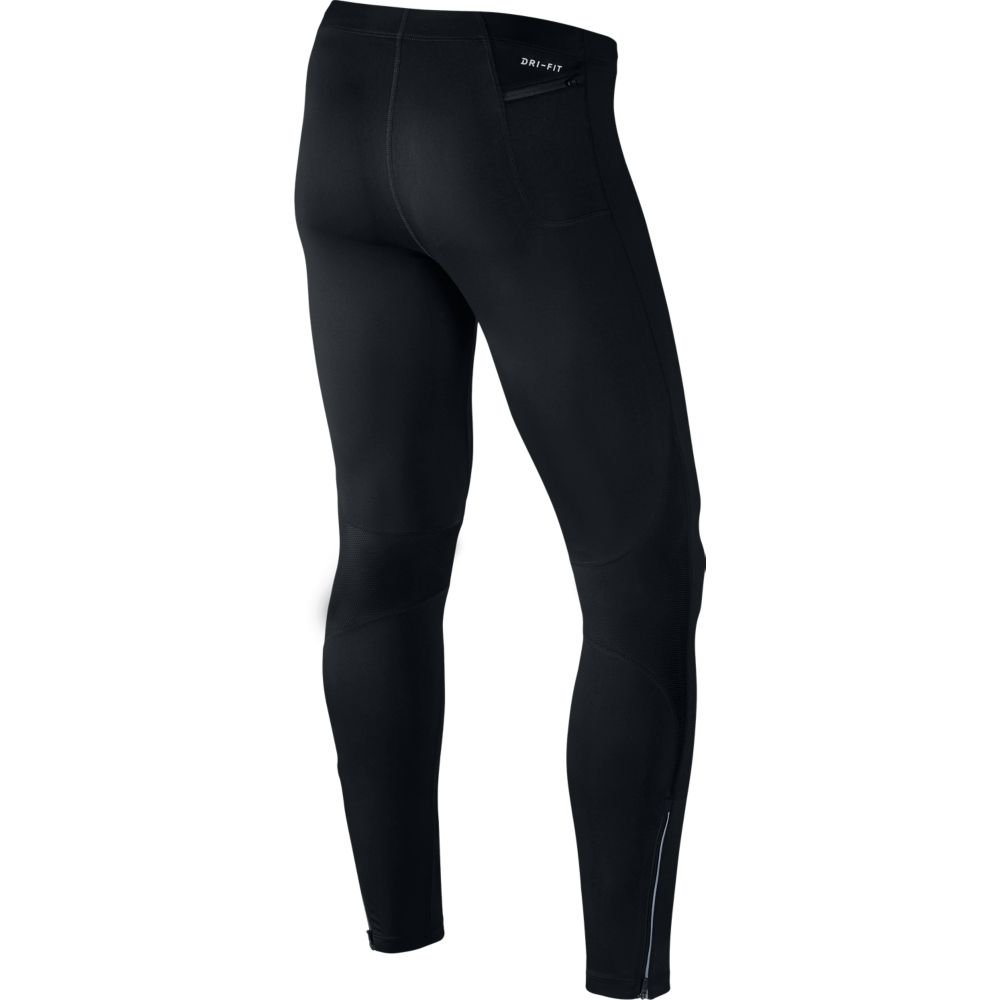 nike power running tights m czarne