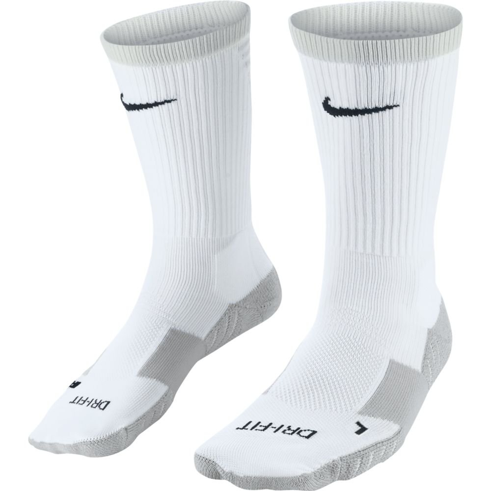 nike matchfit cushion crew team white
