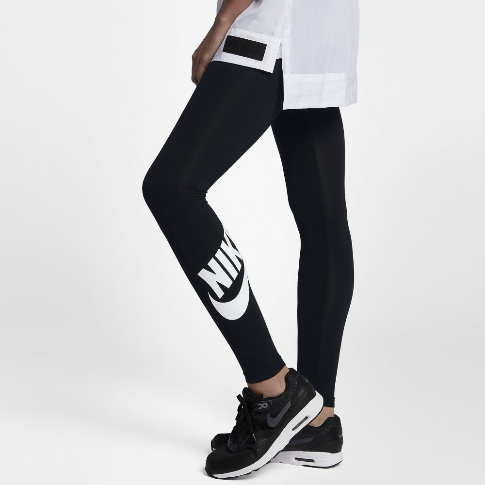legginsy nike leg-a-see wmns logo leggings (933346-010)