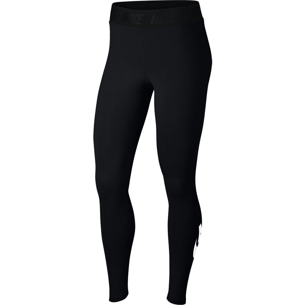 nike leg-a-see wmns logo leggings czarne