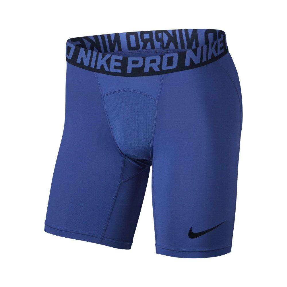 nike pro 6 inch training shorts m niebieskie